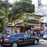 the streets in kamakura in Kamakura, Kanagawa, Japan