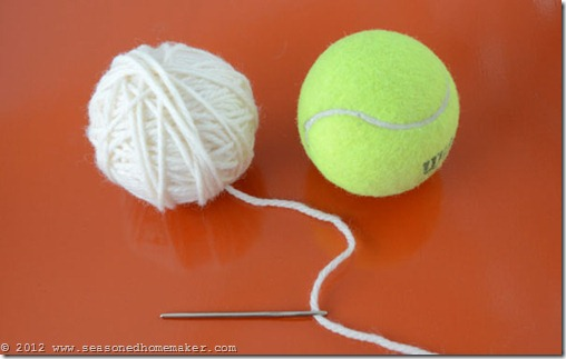 Felted Wool Dryer Balls 6