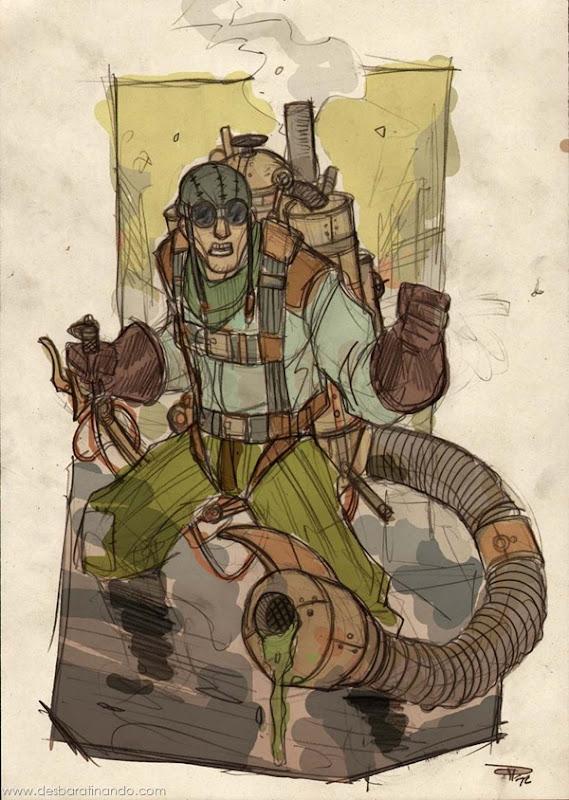 personagens-steampunk-DenisM79-desenhos-desbaratinando (22)