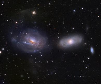 galáxia NGC 3169
