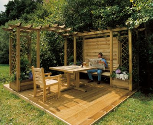 las prgolas se han hoy en da en uno de los mobiliarios decorativos ms utilizados en espacios al aire libre estos brindan un confortable