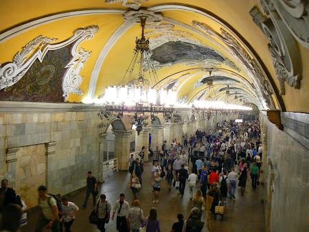 Circuit Rusia: Statie metrou Moscova