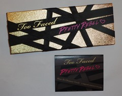 Too Faced Pretty Rebel Eye Shadow Palette