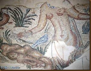 Villa de las MUsas - Detalle de uno de los mosaicos
