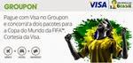 promocao visa e groupon na copa 2014