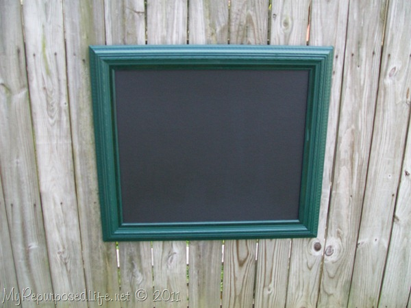 cheap easy chalkboard