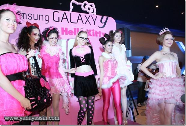 Samsung Galaxy Y Hello Kitty  360