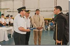 Roberto Ferreyra en la celebración del 131º aniversario de la Policía de la Provincia de Buenos Aires