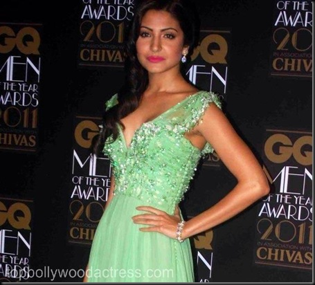 anushka Sharma at the GQ Men Of The Year Awards 2011