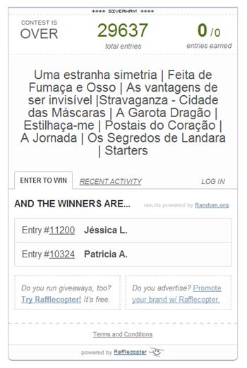 Ganhadores - Folia Literária