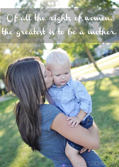 PBJstories Gratitude Motherhood 3