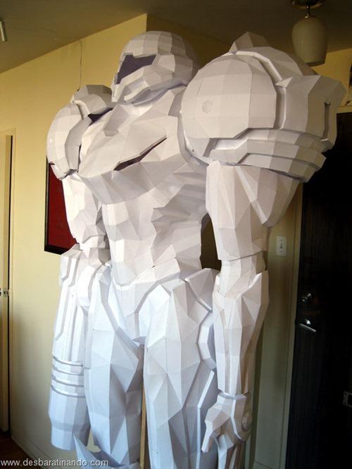 armadura metroid samus papercraft papel desbaratinando  (15)