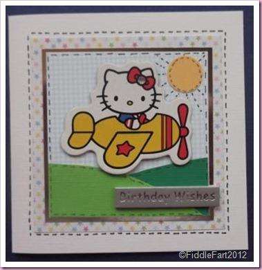 Birthday Hello Kitty Card