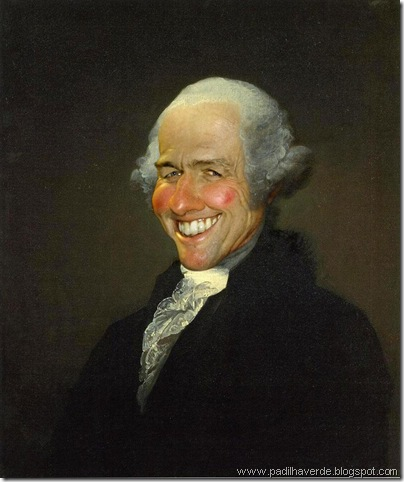 Caricatura George Washington
