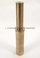 """1"""" Brass Double-Trumpet Water Film Fountain Nozzle."""