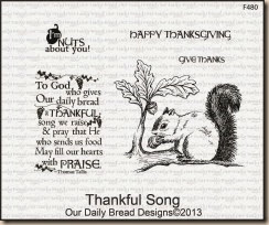 Thankful Song