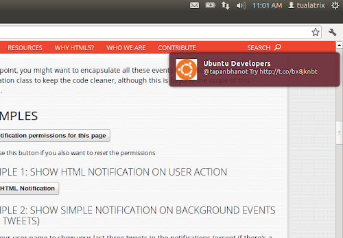 Linux Native Notification