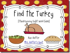 find the turkey