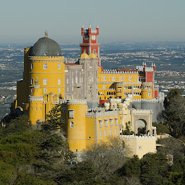 palacio da pena by Joao Esteves - Buildings & Architecture Statues & Monuments