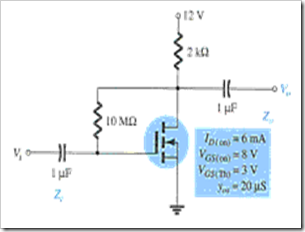 MCQs in FET Amplifiers Fig. 12