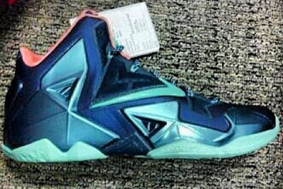 nike lebron 11 xx first look 1 01 Another Look at the Nike LeBron XI (11) Army Slate