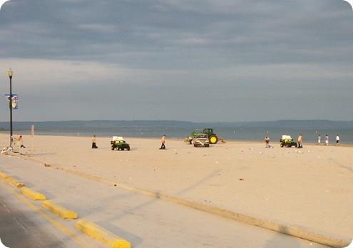 WB Beach 1 Clean up 070111
