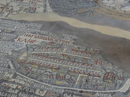Obiective turistice - Iordania: Mozaicul de la Madaba