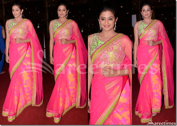 Priyamani_Mahek_Shetty_Saree