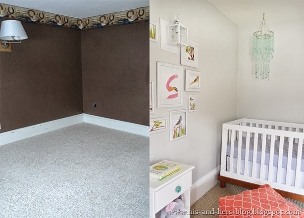 nursery before and afters