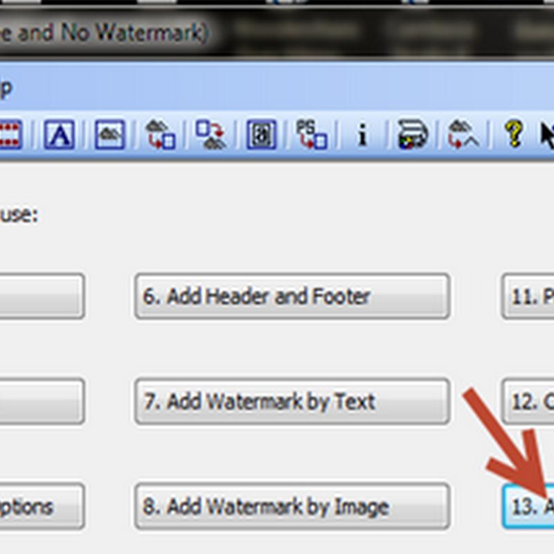 การเพิ่มคำสำคัญ keyword ชื่อผู้เขียน หรือเวลาที่สร้าง เอกสาร pdf ด้วยฟรีแวร์