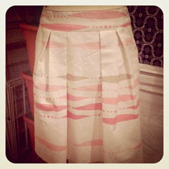 nearly finished the skirt[3]