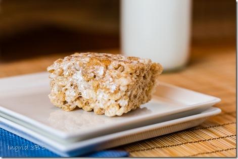 bb cinnamon spice rice krispy treats-