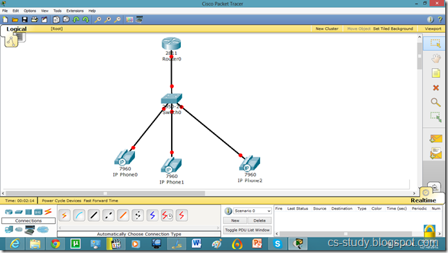 voice over ip voip on packet tracer easy learning