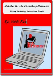 Over 60 websites you can use in the elementary classroom - for free - all compiled into one free e-book by Raki's Rad Resources.