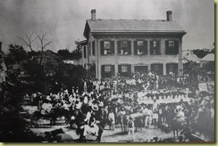 Lincoln House during election