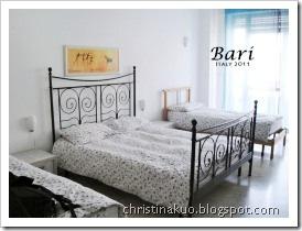 【Italy♦義大利】Bari 巴里 - 住宿: Bari Murat B&B