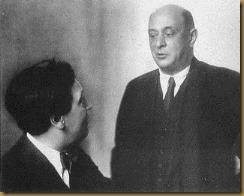 Berg con Schoenberg