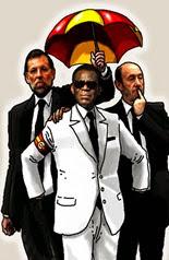 Obiang con nuestros políticos