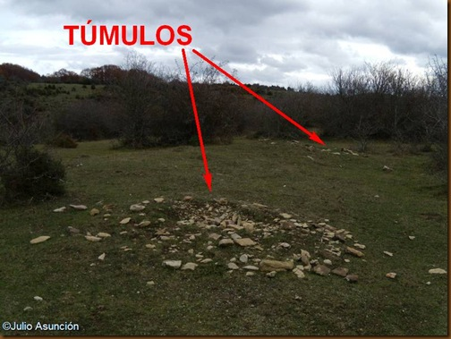 Túmulos prehistóricos - ruta Olaldea - Navarra