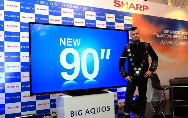 Sharp Hadirkan Big Aquos 90 Inchi Aneka Tips Dan