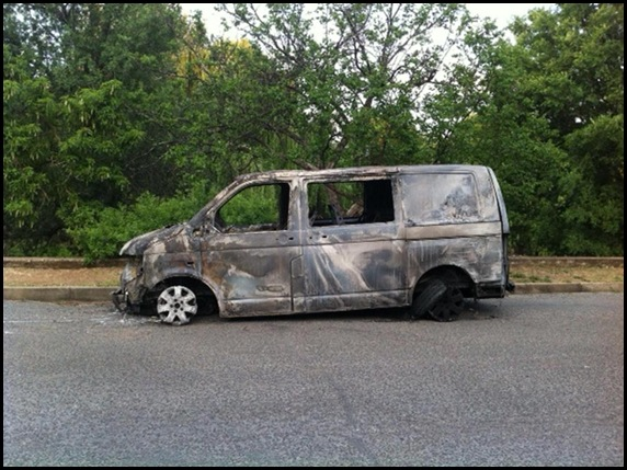 LABUSCHAGNE FAMILY FIRE AFTER BREAKIN CAR