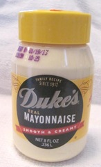 Dukes 8 ounce mayo from Dollar Tree