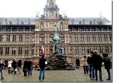 Stadhuis Antwerpen アントワープ市庁舎