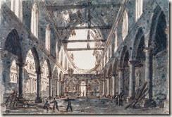 demolition du couvent  des cordeliers