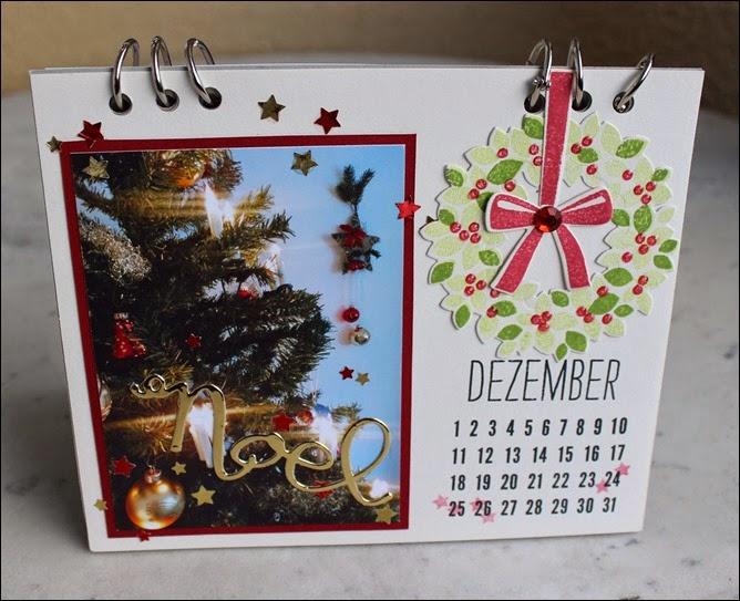 Tischkalender 2015 selbermachen basteln Blanko Vorlage 15