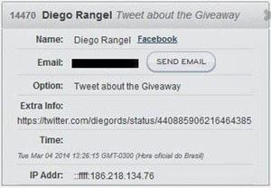 Diego R 2 ganhador