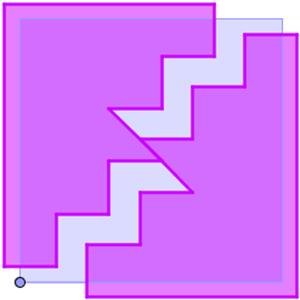 bissezione quadrato