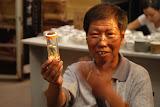 Shanghai - Pets market - Vendeur de criquet