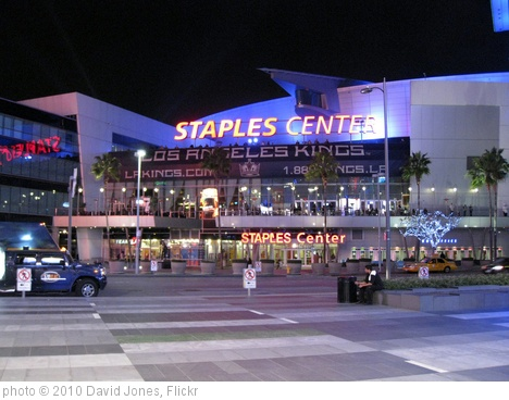'The Staples Center, Los Angeles' photo (c) 2010, David Jones - license: http://creativecommons.org/licenses/by/2.0/
