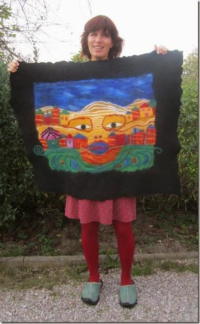 Martinas Hommage an Hundertwasser